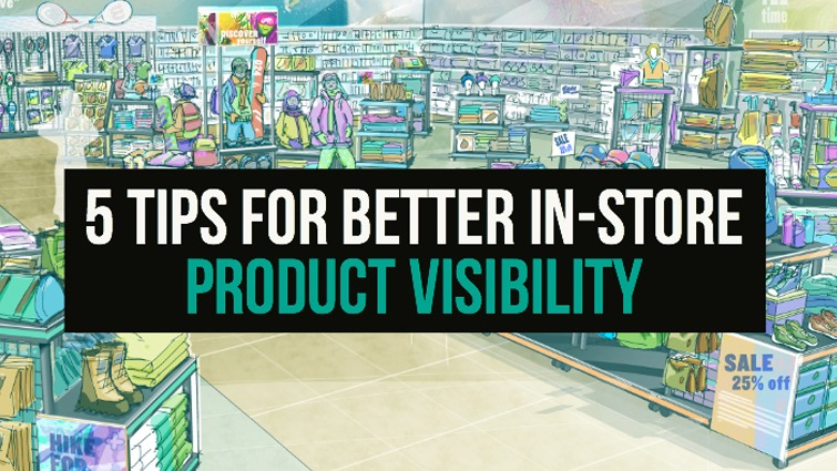 in store product visibility