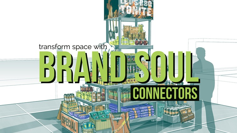 transform your space with brand soul connectors