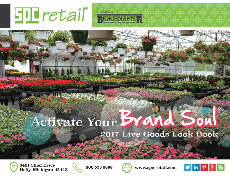 Cover of the 2017 Live Goods Look Book