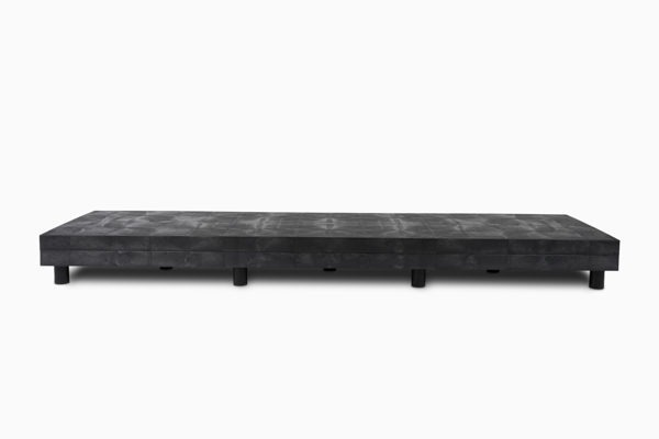 96x24 Solid Top Platform Raised Double Stack