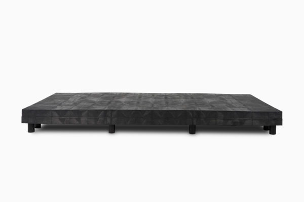 96x36 Solid Top Platform Raised Double Stack