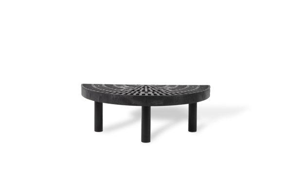 36-inch Single Level Half Round Endcap