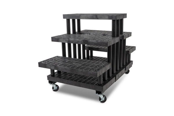 36-inch Five Step Pyramid Cart