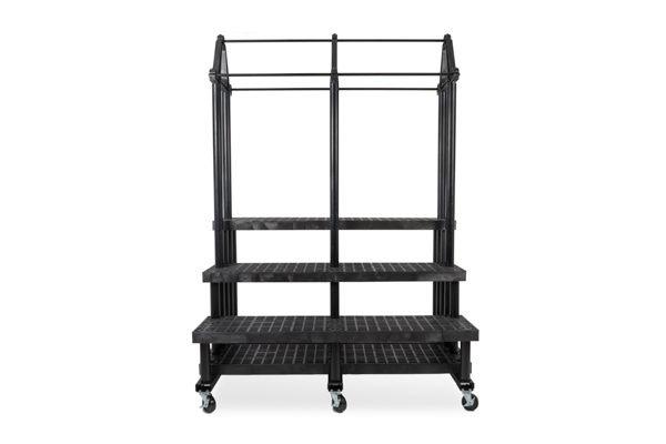66-inch Three Step Single Sided Plant Hanger Cart