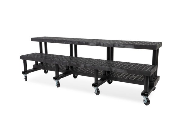 96-inch Two Step Single Sided Cart