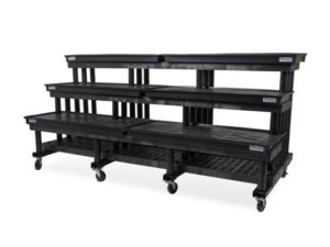 96-inch Three Step Single Sided Waterbed™ Cart