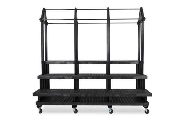 96-inch Three Step Single Sided Plant Hanger Cart