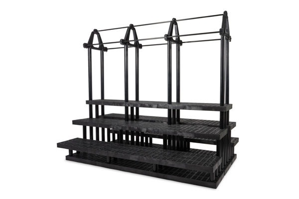 96-inch Five Step Plant Hanger Pyramid