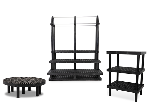 Collection of three different display types SPC Retail offers.