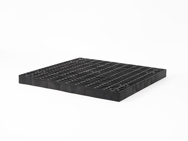 side view of plastic 36x36 Grid Top