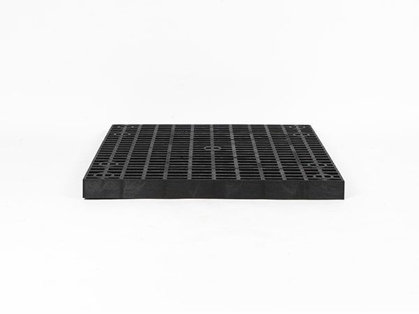 front view of plastic 36x36 Grid Top