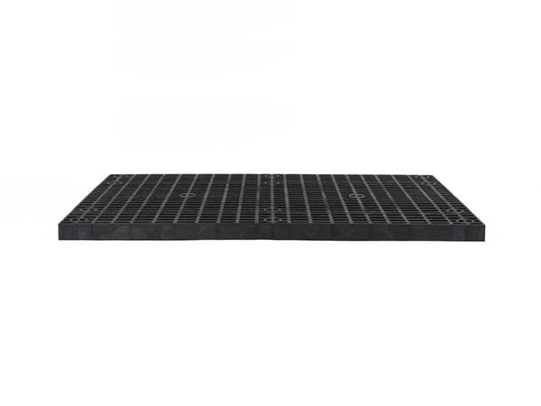 front view of plastic 66x36 Grid Top