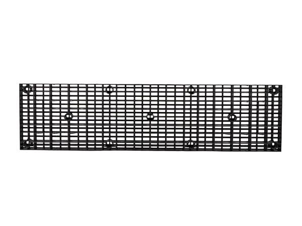 underside view of plastic 96x24 Grid Top