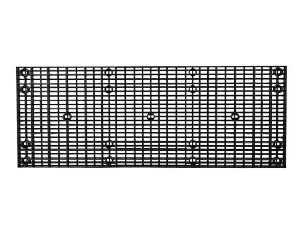underside view of plastic 96x36 Grid Top