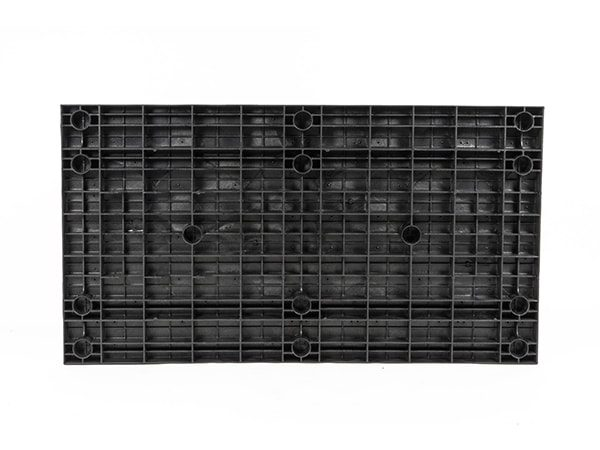 underside view of plastic 66x36 Solid Top