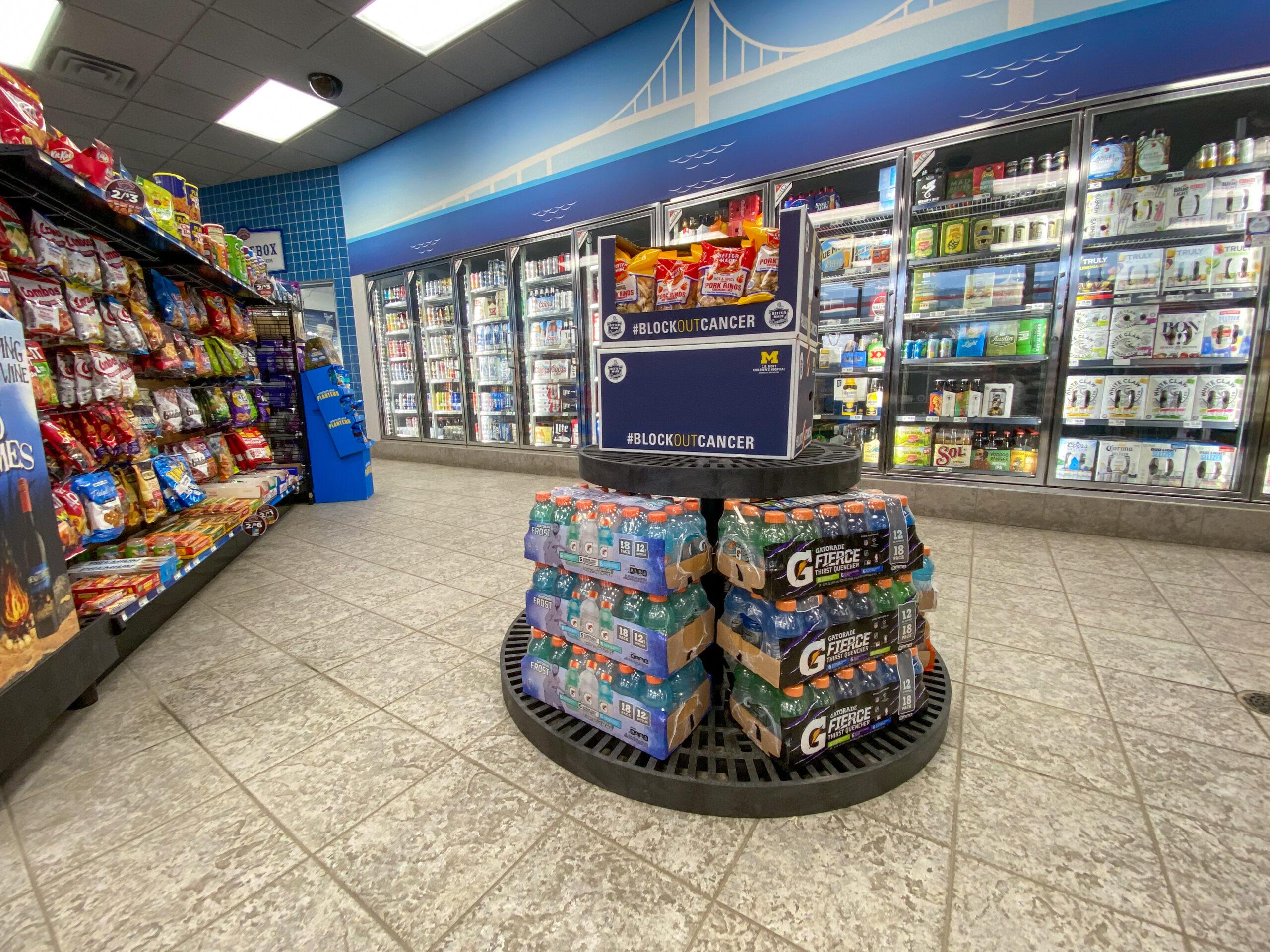 C-Store Tiered Round